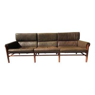 "Arne Norell Safari Sofa ""Kontiki"" Model"