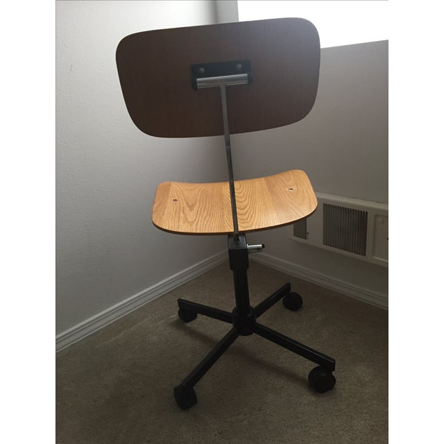 Vintage Swivel Office Chair Made by Rabami Stole - Image 4 of 8