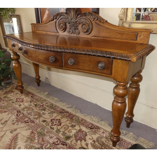 Immaculately maintained Polo Ralph Lauren Sideboard or Server. Expertly crafted in walnut with British West Indies...