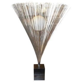Vintage Laurel Spray Lamp For Sale