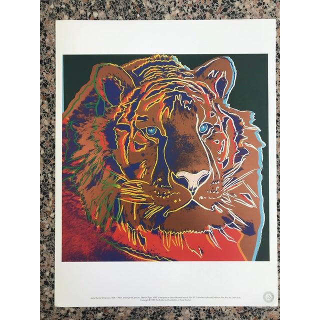 "Andy Warhol Warhol ""Endangered Species"" Print Portfolio For Sale - Image 4 of 12"