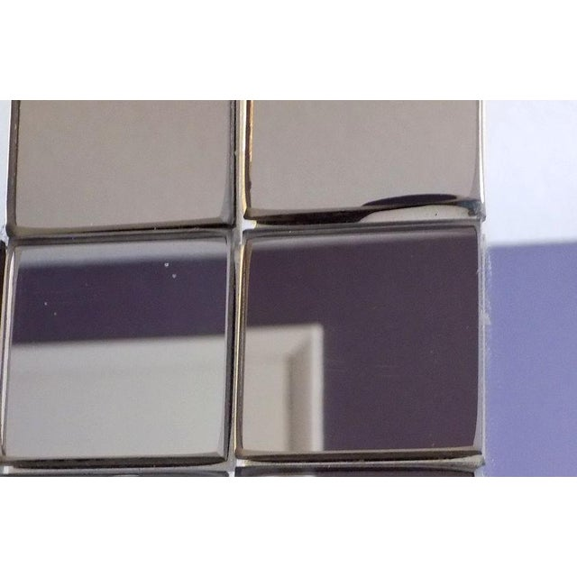 Tiled Hal Bienenfeld Pop Op Art Wall Mirror For Sale - Image 12 of 13