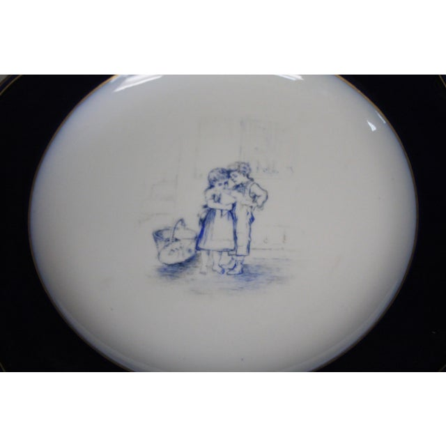 Meissen Cobalt Plates For Sale In New York - Image 6 of 9