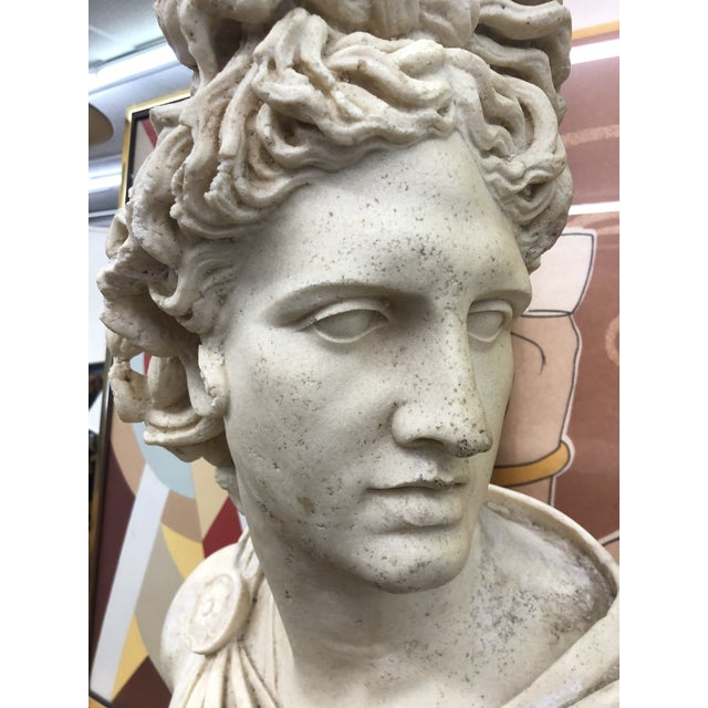 Vintage Bust of David For Sale In Miami - Image 6 of 10