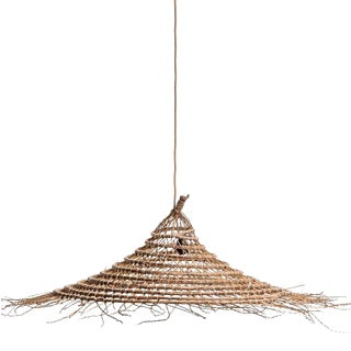 Medium Date Palm Suspension Lamp For Sale