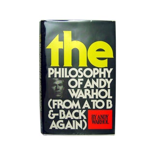 The Philosophy of Andy Warhol, Signed For Sale