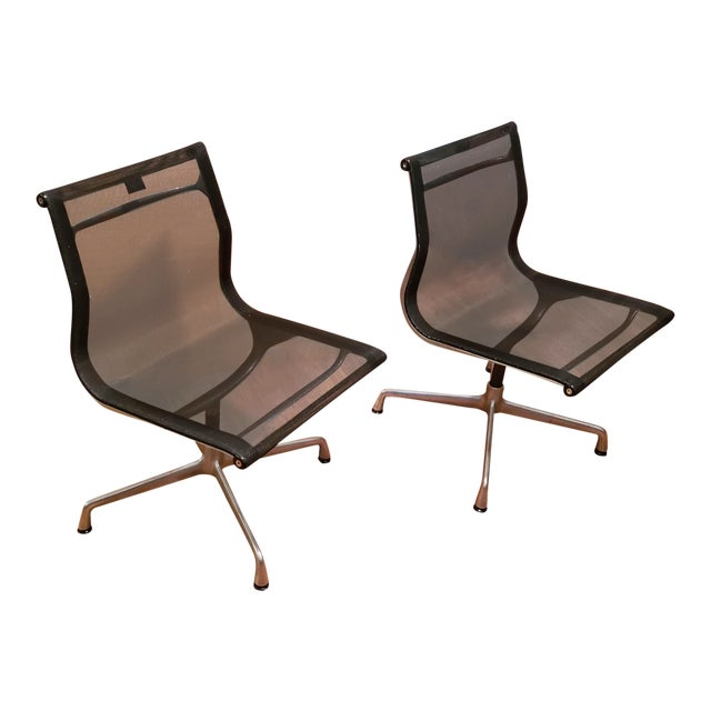 1990s Vintage Herman Miller Eames Office Chairs- A Pair For Sale