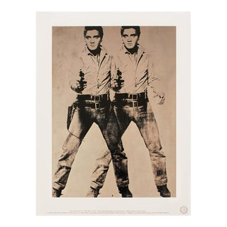 """1993 Andy Warhol """"Two Elvis, 1963"""", Pop Art Lithograph For Sale"""