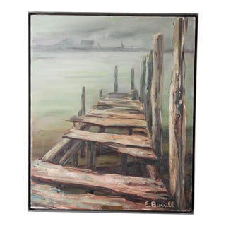"Eleanor Burrell (20th Century School) ""The Dock"" For Sale"
