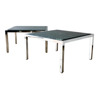 Pair of Milo Baughman Coffee Tables 1970s For Sale