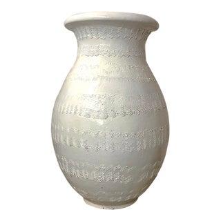 Massive Bitossi Textured Garden Urn For Sale