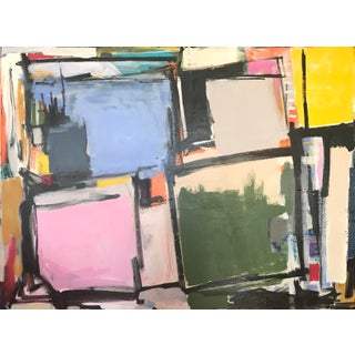"""Pleasantville"" Contemporary Abstract Painting For Sale"