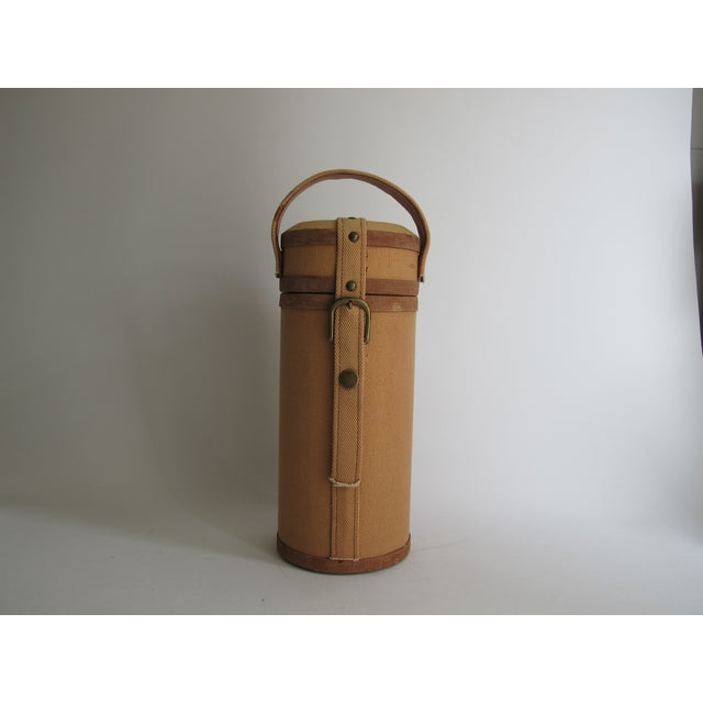 Tweed And Suede Wine Carrier - Image 5 of 8