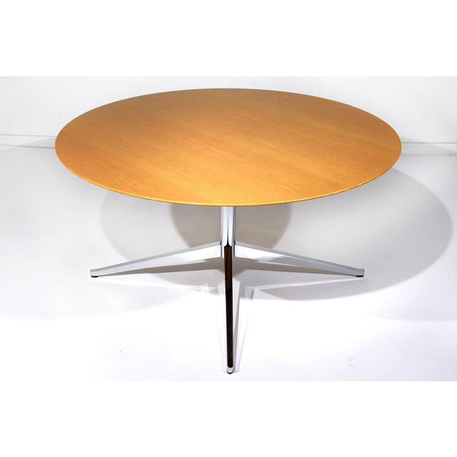 Mid-Century Modern-style Dining Table by Florence Knoll International - Image 2 of 8