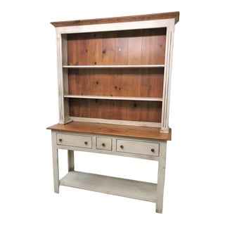 Farmhouse Solid Wood Sideboard For Sale