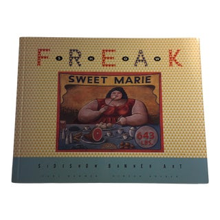 1996 Freak Show Sideshow Banner Art Book For Sale