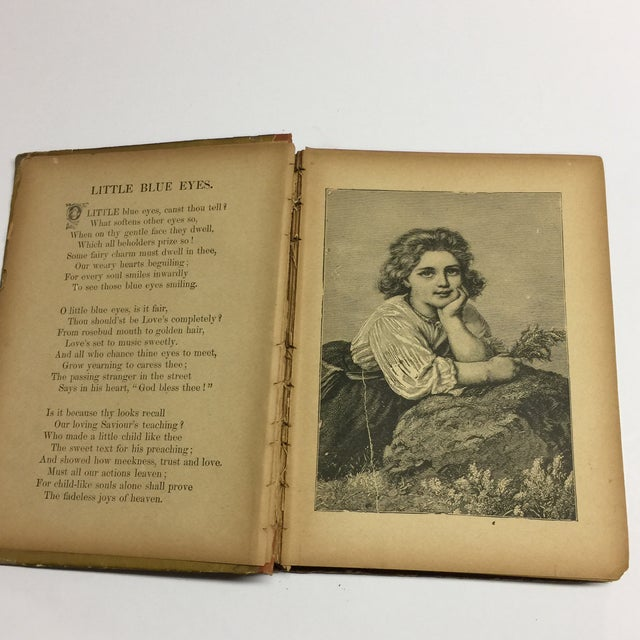 "Late 19th Century 1889 ""Happy Children "" Lithographs Book For Sale - Image 5 of 13"