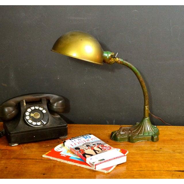 Vintage Industrial Desk Lamp - Image 3 of 7