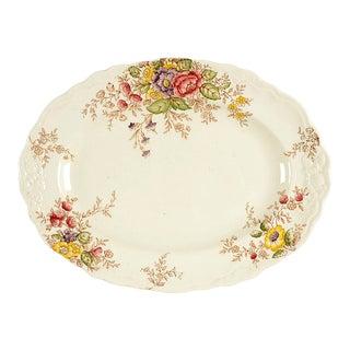 "Crown Ducal Rydal 10"" Oval Serving Platter For Sale"