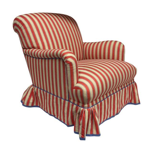 Diamond Baratta Striped Lounge Chair - Image 1 of 6