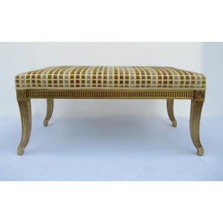 Gilt French Empire Style Interior Crafts Bench Preview