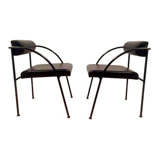 Vintage Shiro Kuramata Chairs - A Pair For Sale