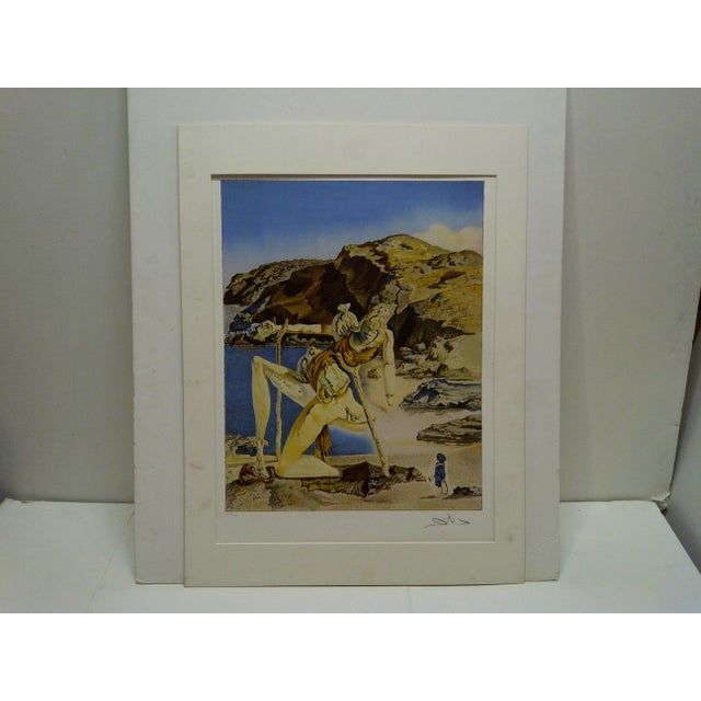 """Limited Edition Numbered (275/300) Matted Salvador Dali Print """"Spectrum of Sex Appeal"""" - Image 8 of 8"""