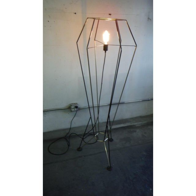 Contemporary Rocket Floor Lamp For Sale - Image 3 of 7