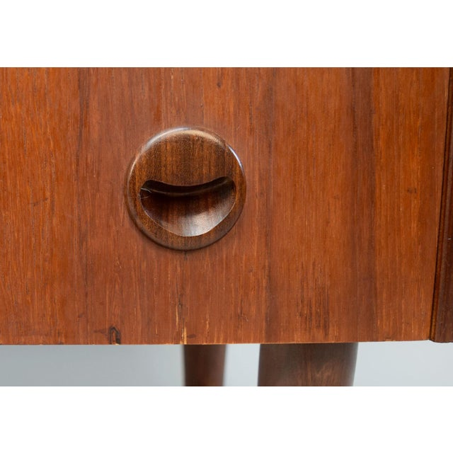Kai Kristiansen Danish Teak Bow-Front Dresser - Image 8 of 11