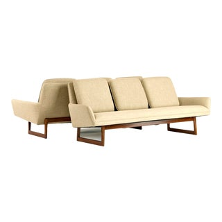 1960s Vintage Jens Risom Sofas- a Pair For Sale