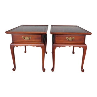 Statton Old Towne Cherry End Tables - a Pair For Sale