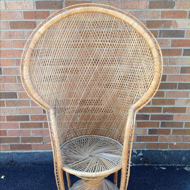 Vintage Rattan Peacock Chair - Image 9 of 9
