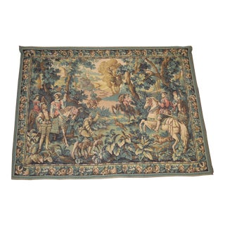 Belgium Renaissance Style Woven Tapestry