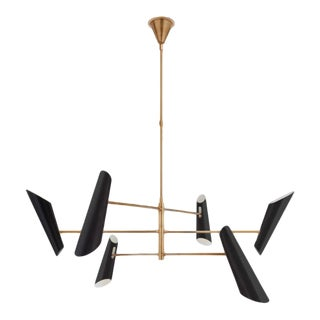 3002 Modern Franca Pivoting Chandelier For Sale