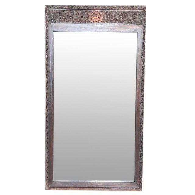 Antique Grand Ganesha Mirror - Image 1 of 3