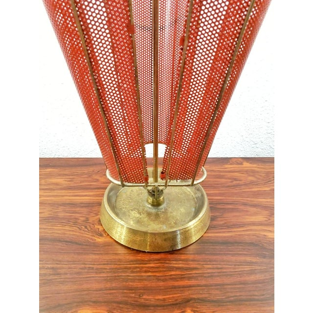 1950s Vintage Brass Umbrella Stand For Sale In Austin - Image 6 of 8