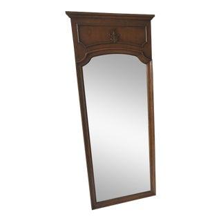 Vintage Thomasville Oak Framed Mirror For Sale