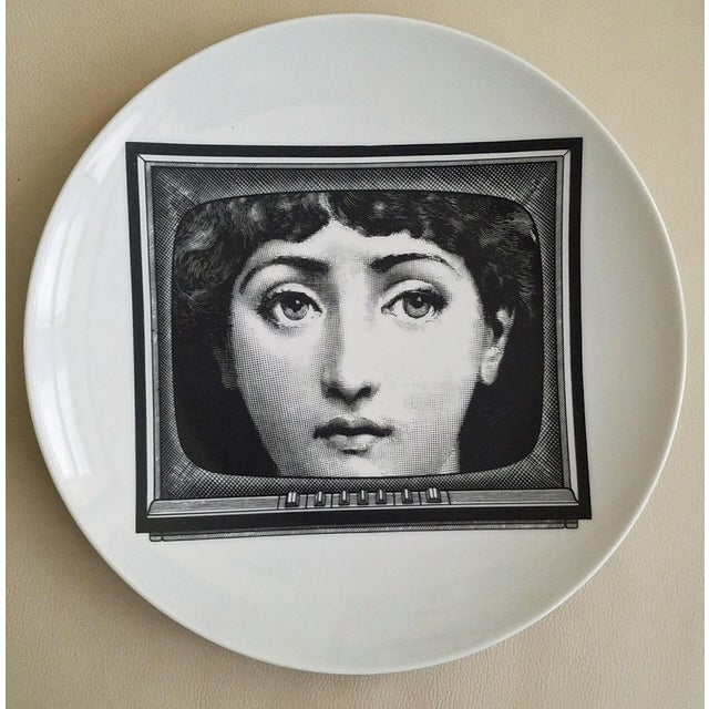 Fornasetti Tema E Variazioni Plate, Number 265 - Image 2 of 3