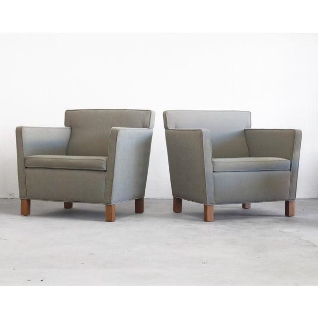 Pair Of Knoll Krefeld Lounge Chairs By Mies Van Der Rohe Chairish