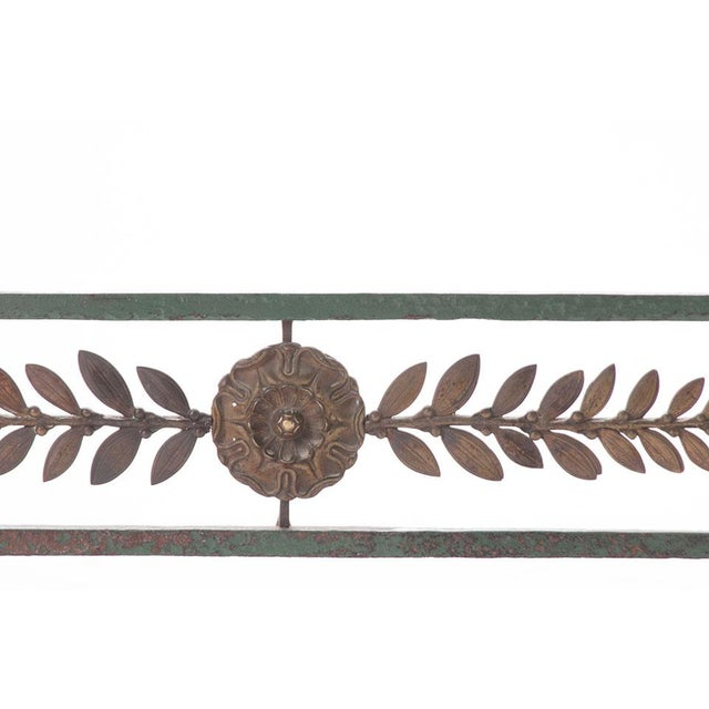 Metal French 19th Century Painted Iron and Bronze Umbrella Stand For Sale - Image 7 of 10