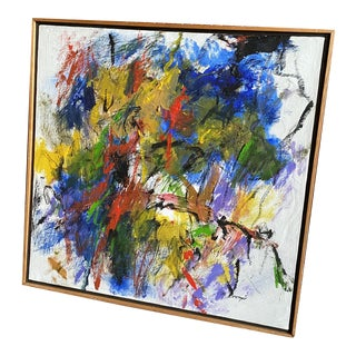 Original Abstract Expressionist Painting by Marlene Bremer For Sale