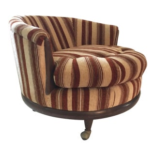 Adrian Pearsall Style Round Club Chair