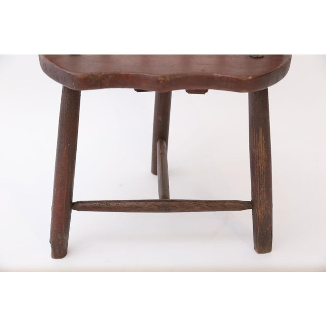 Mid 19th Century Scottish Horseshoe Back Chair For Sale - Image 5 of 12