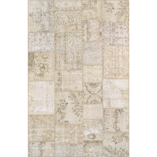 "Pasargad Patchwork Collection Rug- 5' 1"" X 8' - Image 1 of 3"