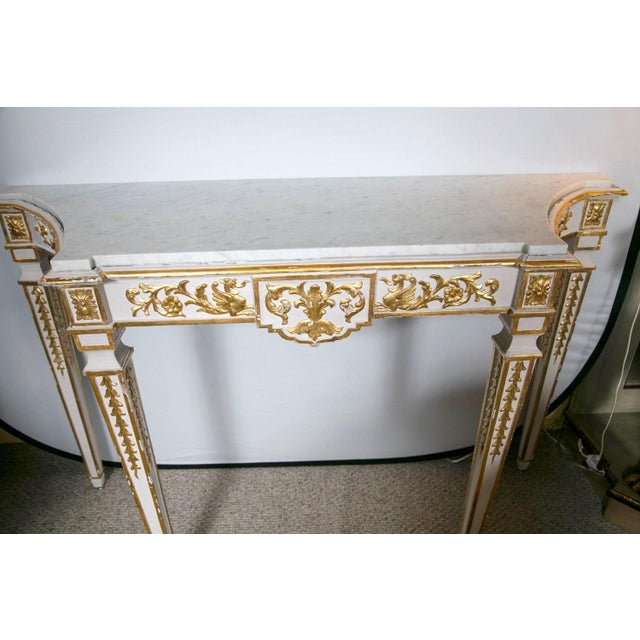 Italian Neoclassical Consoles - A Pair - Image 6 of 7
