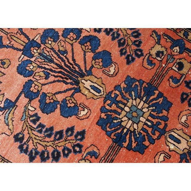 Islamic 1920s, Handmade Antique Persian Lilihan Rug 4.9' X 6.7' For Sale - Image 3 of 7
