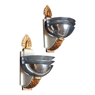 Art Deco Wall Sconces - 3 Tiered