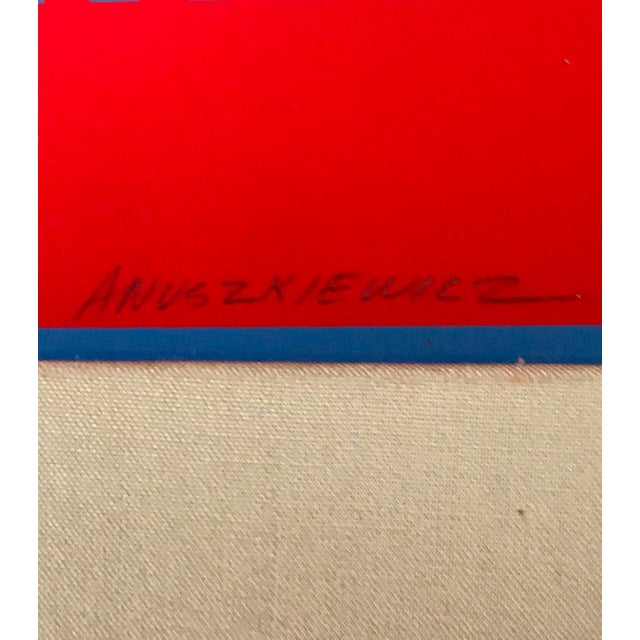 Printmaking Materials Richard Anuszkiewicz Op Art Signed For Sale - Image 7 of 9