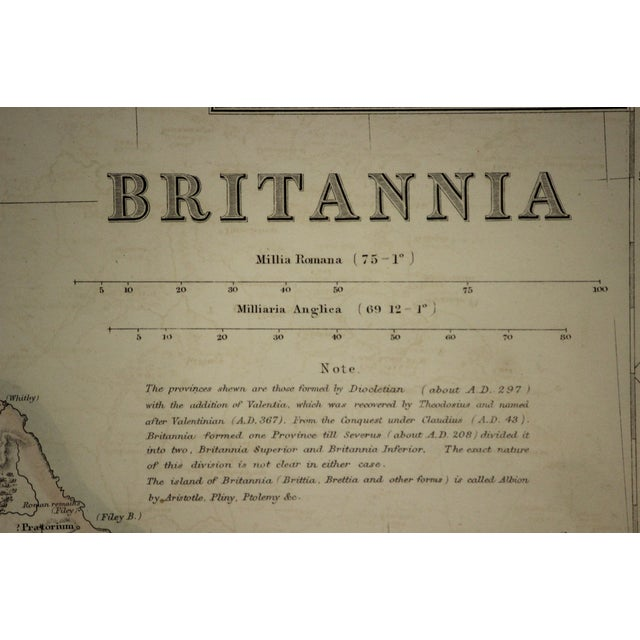 English Britannia Map by Edw. Weller For Sale - Image 3 of 8