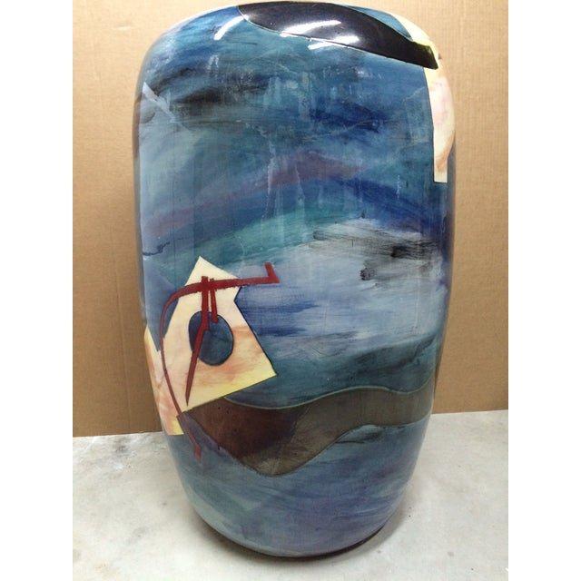 Contemporary Southwest Vessel/Vase - Image 7 of 7